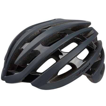 Capacete Ciclismo Polisport Light Road Cinza Preto Bike