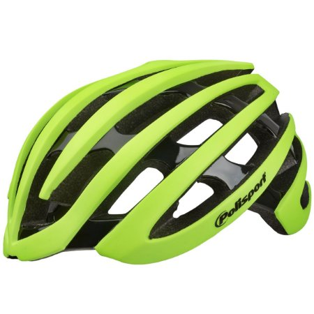 Capacete Ciclismo Polisport Light Road Amarelo Bike