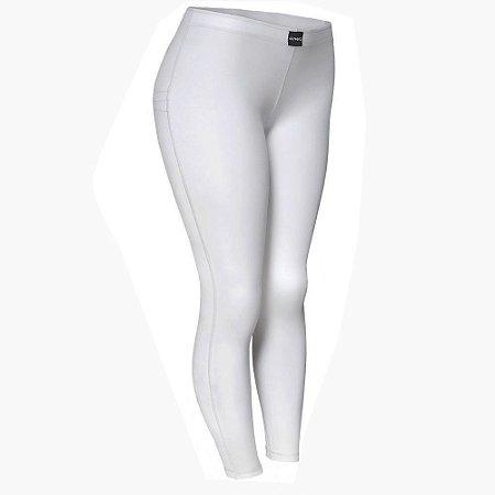 Segunda Pele Branca Feminina Calça Ultra Go Ahead Inverno