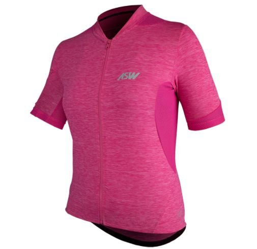 Camisa Ciclismo Bike Asw Essentials Rosa Pink Feminina