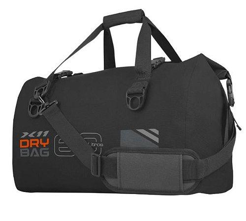 Mala Bolsa Impermeavel X11 Drybag 60 Litros Viagem Preto