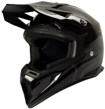 Capacete Motocross Cross ASW Core Legacy  Preto