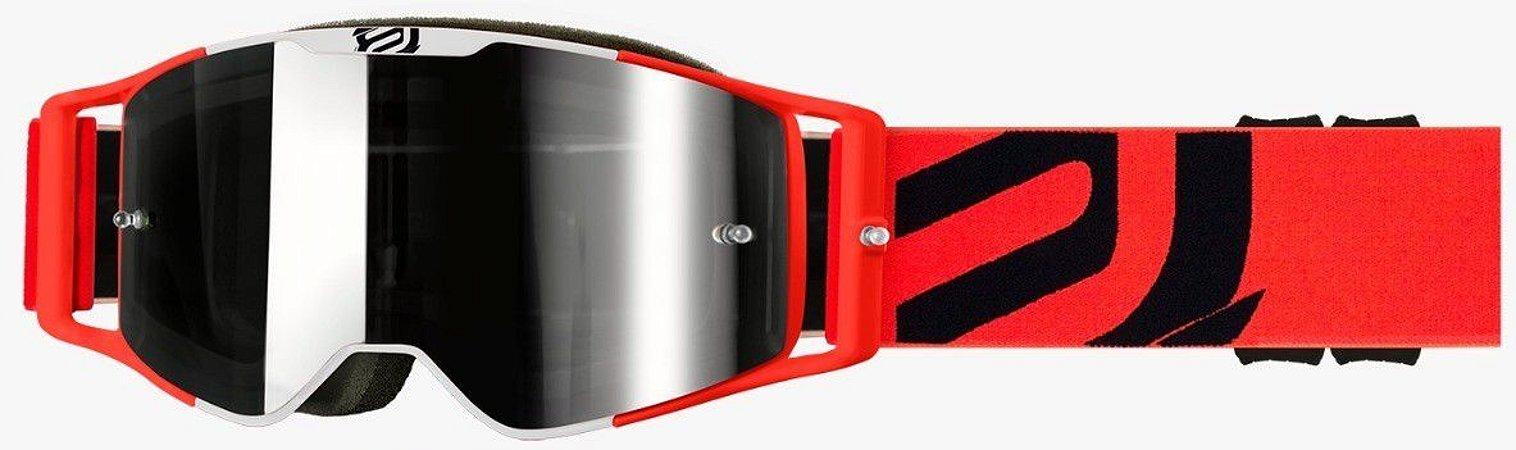 Óculos Asw A3 Giant Laranja Cross Motocross Trilha Enduro