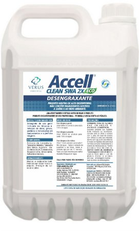 Accell Clean SWA 2x ECO - 5 Litros
