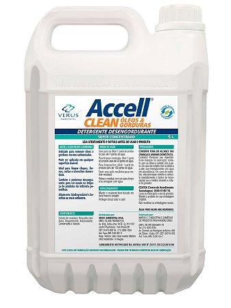 Accell® Clean Óleos & Gorduras  - 5 Litros