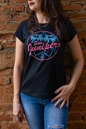 Camiseta Feminina Black Mirror - San Junipero