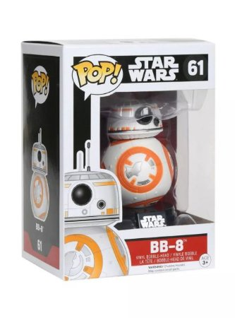 Funko Estatueta Funko Pop! Star Wars The Last Jedi - BB-8