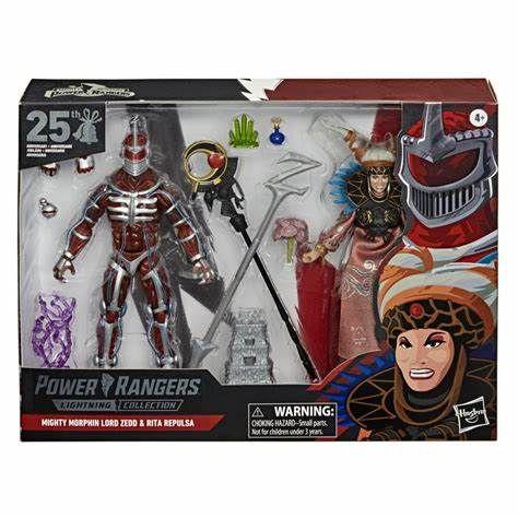 Rita Repulsa & Lord Zedd – Power Rangers: Mighty Morphin – Lightning Collection Exclusive