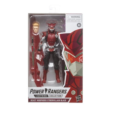 Cybervillain Blaze – Power Rangers: Beast Morphers – Lightning Collection