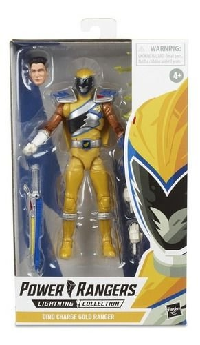 Power Rangers Dino Charge Lightning Collection gold