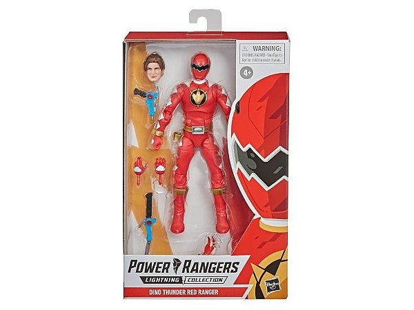 Power Rangers Dino Thunder Lightning Collection Red Ranger