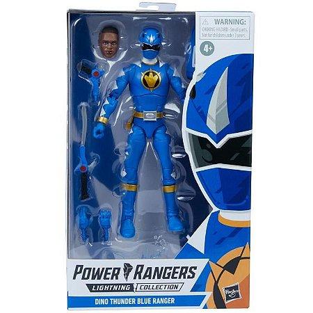 Power Rangers Dino Thunder Lightning Collection Blue Ranger