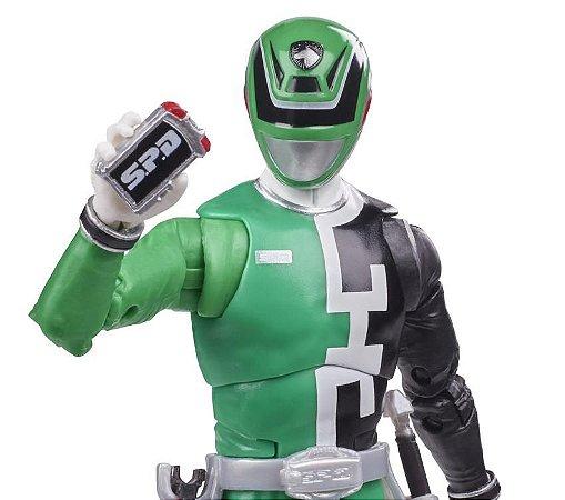 Power Rangers S.P.D. Lightning Collection Green Ranger
