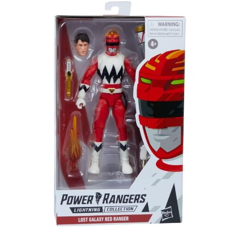 Power Rangers Lost Galaxy Lightning Collection Red Ranger