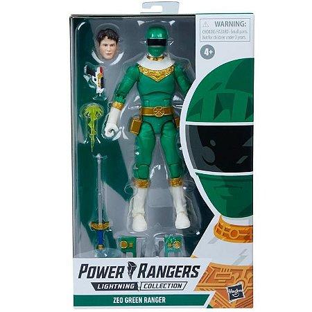 Power Rangers Zeo Lightning Collection Green Ranger