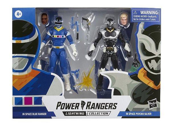 Power Rangers in Space Lightning Collection Blue Ranger Vs. Silver Psycho Battle Pack Novembro/ 21