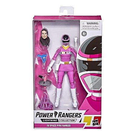 Power Rangers no Space Lightning Collection Pink Ranger Janeiro/ 22