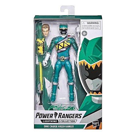 Power Rangers Dino Charge Lightning Collection Green Ranger ****Janeiro/21