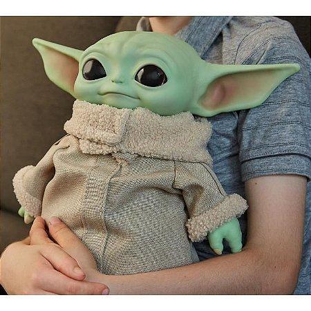 "Star Wars Grogu Plush Toy, 30 cm ""The Child"" from The Mandalorian Baby yoda"