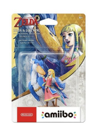 Amiibo Zelda & Loftwing Skyward Sword entrega em 30 dias