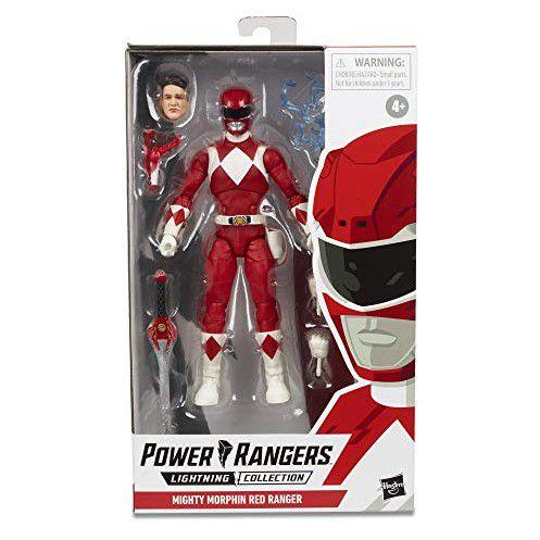 Power Rangers Lightning Collection Red Ranger pré-venda 30 dias