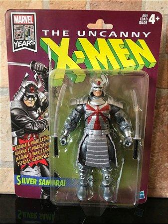 The Uncanny X-Men Marvel Legends Retro Collection Silver Samurai entrega 30 dias