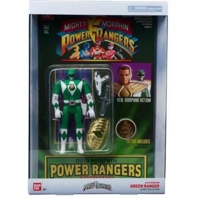 Power Rangers Legacy Green Ranger Head Morph Figure