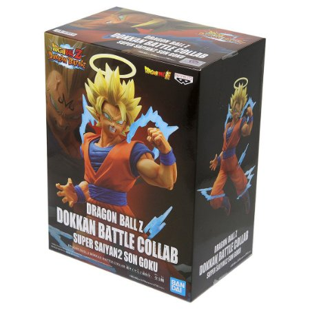 SON GOKU Figure Dragon B all Z Dokkan Battle Collab BANDAI