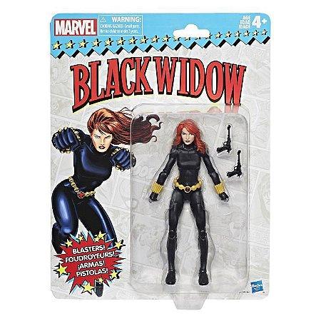 Marvel Legends Retro Collection Black Widow, entrega em 30 dias