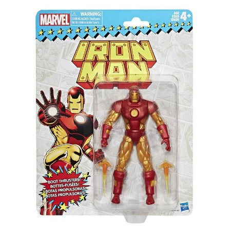 Marvel Legends Retro Collection Iron man Homem de Ferro