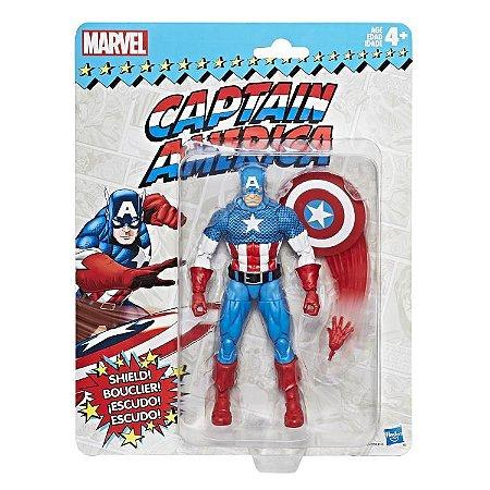 Marvel Legends Retro Collection Captain America Capitão américa