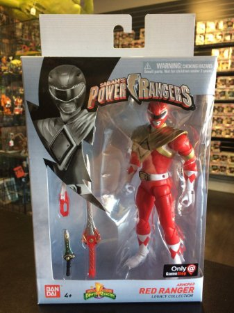 Power Rangers Legacy ARMORED RED RANGER