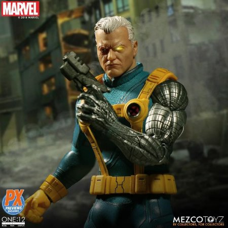 Marvel One:12 Collective Cable PX Previews Exclusive ENTREGA EM 30 dias