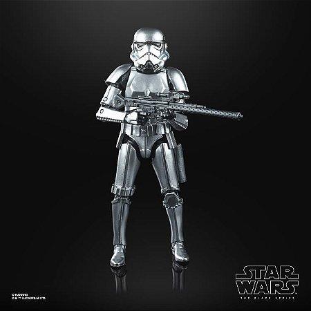 "Star Wars: The Black Series 6"" Stormtrooper (Carbonized) ENTREGA EM 30 dias"