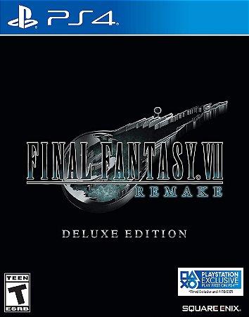 Final Fantasy VII Remake - PlayStation 4 Deluxe Edition ENTREGA EM JULHO