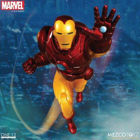 Marvel One:12 Collective Iron Man ENTREGA EM 30 DIAS