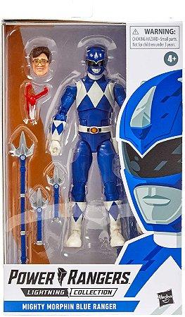 Power Rangers Lightning Collection Mighty Morphin blue Ranger PRÉ-VENDA 30 dias