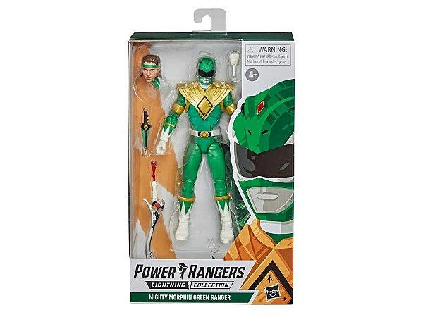 Mighty Morphin Power Rangers Lightning Collection Green Ranger entrega em Fevereiro