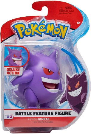 "Pokemon 4.5"" Battle Feature Figure - Gengar PRONTA ENTREGA"