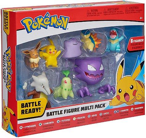Pokemon Battle Figure Multi 8 Pack entrega em 25 dias