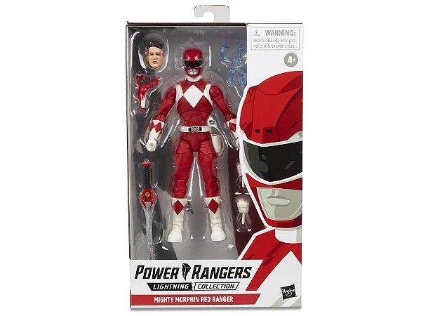 "Power Rangers Lightning Collection 6"" Mighty Morphin Red Ranger Entrega em Julho"