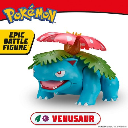 "Pokemon Venusaur 12"" Epic Battle Figure"