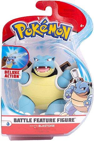 "Pokémon 4.5"" Battle Feature Figure - Blastoise  PRONTA ENTREGA"