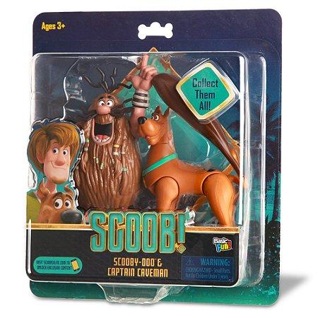 """Scoob! 6"""" Action Figures 2 Pack - Scooby Doo and Captain Caveman (Walmart Exclusive)"""