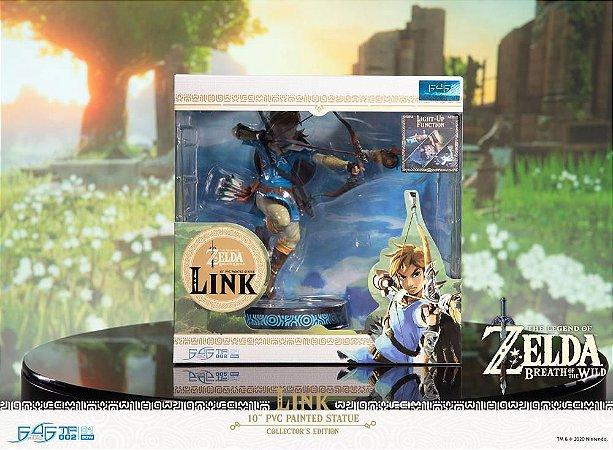 Breath of the Wild Link Statue Collector's Edition entrega em março