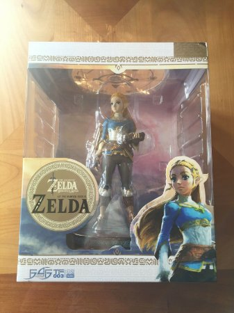The Legend of Zelda: Breath of the Wild Zelda Statue entrega em março de 2021