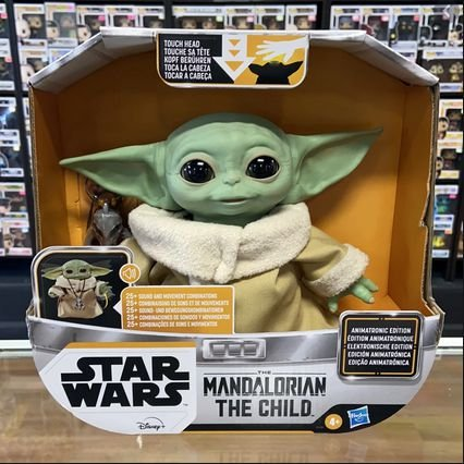 Star Wars The Child Animatronic Edition Toy entrega em 25 dias