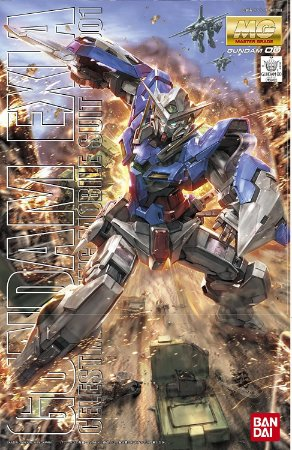 Bandai Hobby Gundam EXIA Bandai Master Grade Action Figure entrega em 30 dias