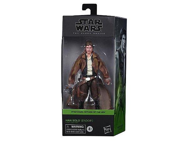 "Star Wars: The Black Series 6"" Han Solo (Return of the Jedi) entrega em 25 dias"