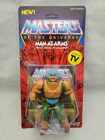 Masters of the Universe: Super 7 Man-At-Arms figure Pronta entrega